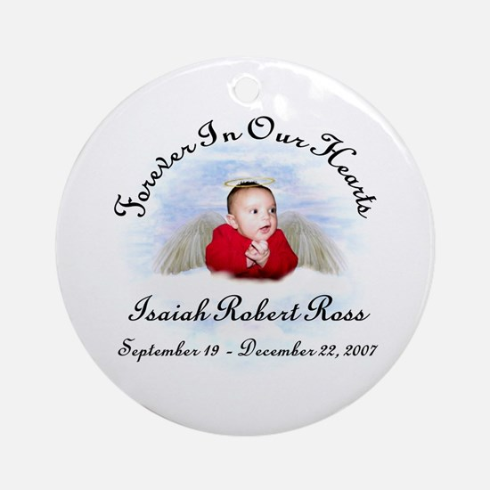 Isaiah Ornament (Round)
