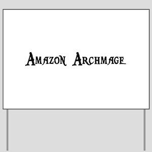 Amazon Archmage Yard Sign