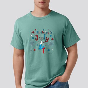 July 4th Birthday Red, White, Blue T-Shirt