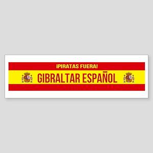 Gibraltar Español - Spanish Gi Bumper Sticker