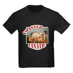 Coaster Fanatic Kids Dark T-Shirt