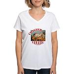 Coaster Fanatic Women's V-Neck T-Shirt
