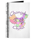 Changde China Map Journal