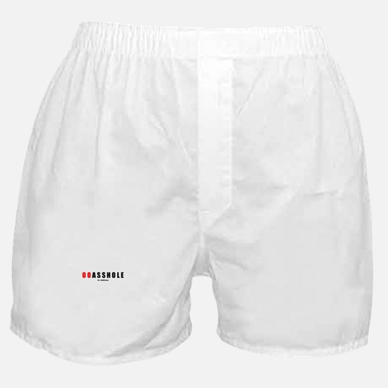00 Asshole(TM) Boxer Shorts