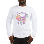 Changning China Map Long Sleeve T-Shirt