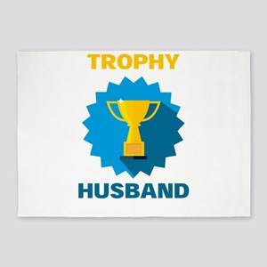 Trophy Husband 5'x7'Area Rug