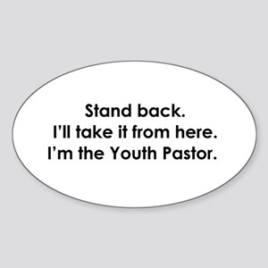 Youth Ministry Oval Sticker