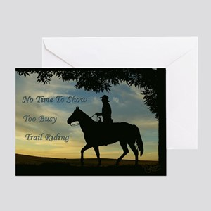 No time to show - Greeting Card