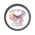 Hengnan China Map Wall Clock