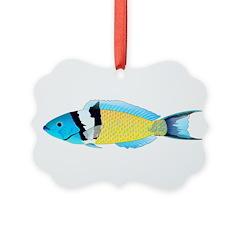 Bluehead Wrasse Ornament