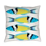Bluehead Wrasse Everyday Pillow