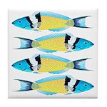 Bluehead Wrasse Tile Coaster