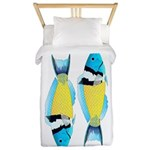 Bluehead Wrasse Twin Duvet Cover
