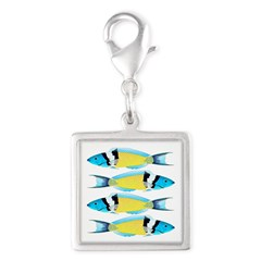 Bluehead Wrasse Charms