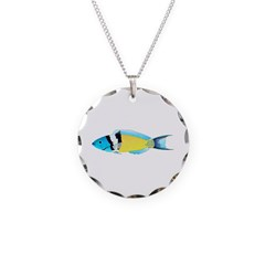 Bluehead Wrasse Necklace