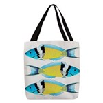 Bluehead Wrasse Polyester Tote Bag