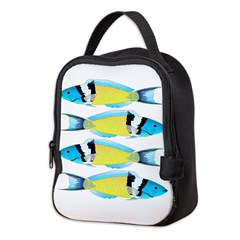 Bluehead Wrasse Neoprene Lunch Bag