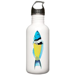 Bluehead Wrasse Water Bottle