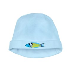 Bluehead Wrasse Baby Hat
