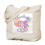Huaihua China Map Tote Bag