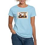 Halloween Witch & Clock Women's Light T-Shirt