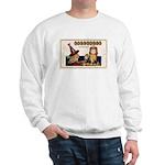 Halloween Witch & Clock Sweatshirt