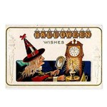 Halloween Witch & Clock Postcards (Package of 8)