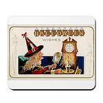 Halloween Witch & Clock Mousepad