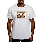 Halloween Witch & Clock Light T-Shirt