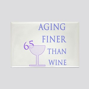 Witty 65th Birthday Rectangle Magnet