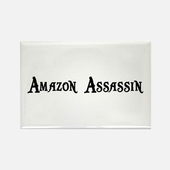 Amazon Assassin Rectangle Magnet
