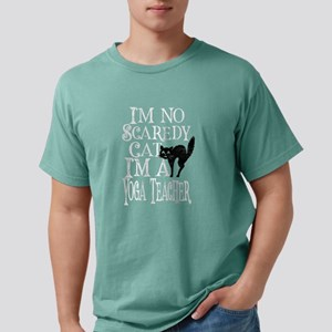 I'm No Scaredy Cat I'm A Yoga Teac T-Shirt