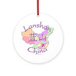 Lanshan China Ornament (Round)