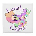 Lanshan China Tile Coaster