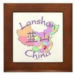 Lanshan China Framed Tile