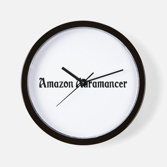 Amazon Auramancer Wall Clock