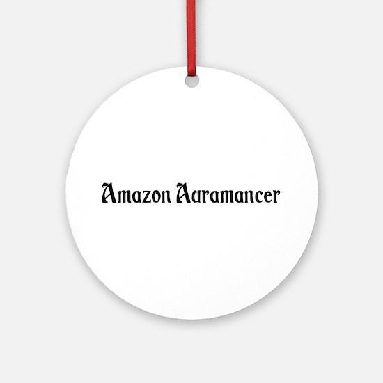 Amazon Auramancer Ornament (Round)