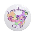 Lengshuitan China Ornament (Round)