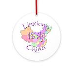 Linxiang China Ornament (Round)