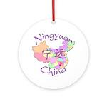 Ningyuan China Ornament (Round)
