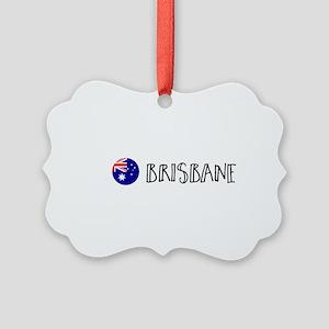 Brisbane Picture Ornament