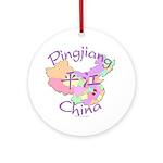 Pingjiang China Ornament (Round)