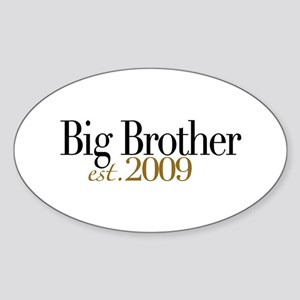 Big Brother 2009 Oval Sticker