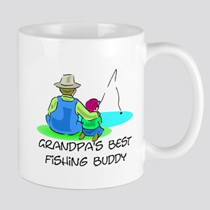 Grandpa's Fishing Buddy Mug