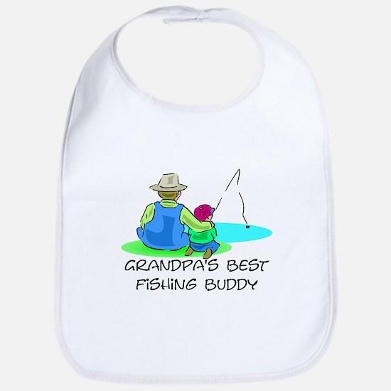Grandpa's Fishing Buddy Bib