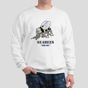 "SEABEES ""Can Do"" Sweatshirt"