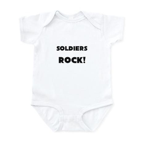 Soldiers ROCK Infant Bodysuit