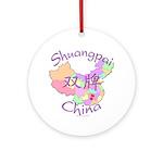 Shuangpai China Ornament (Round)