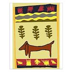 Weiner Dog Small Poster