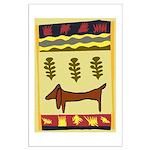 Weiner Dog Large Poster